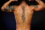 Back Tribal Tattoos For-Men