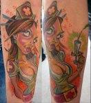 nurse-pinup-tattoo